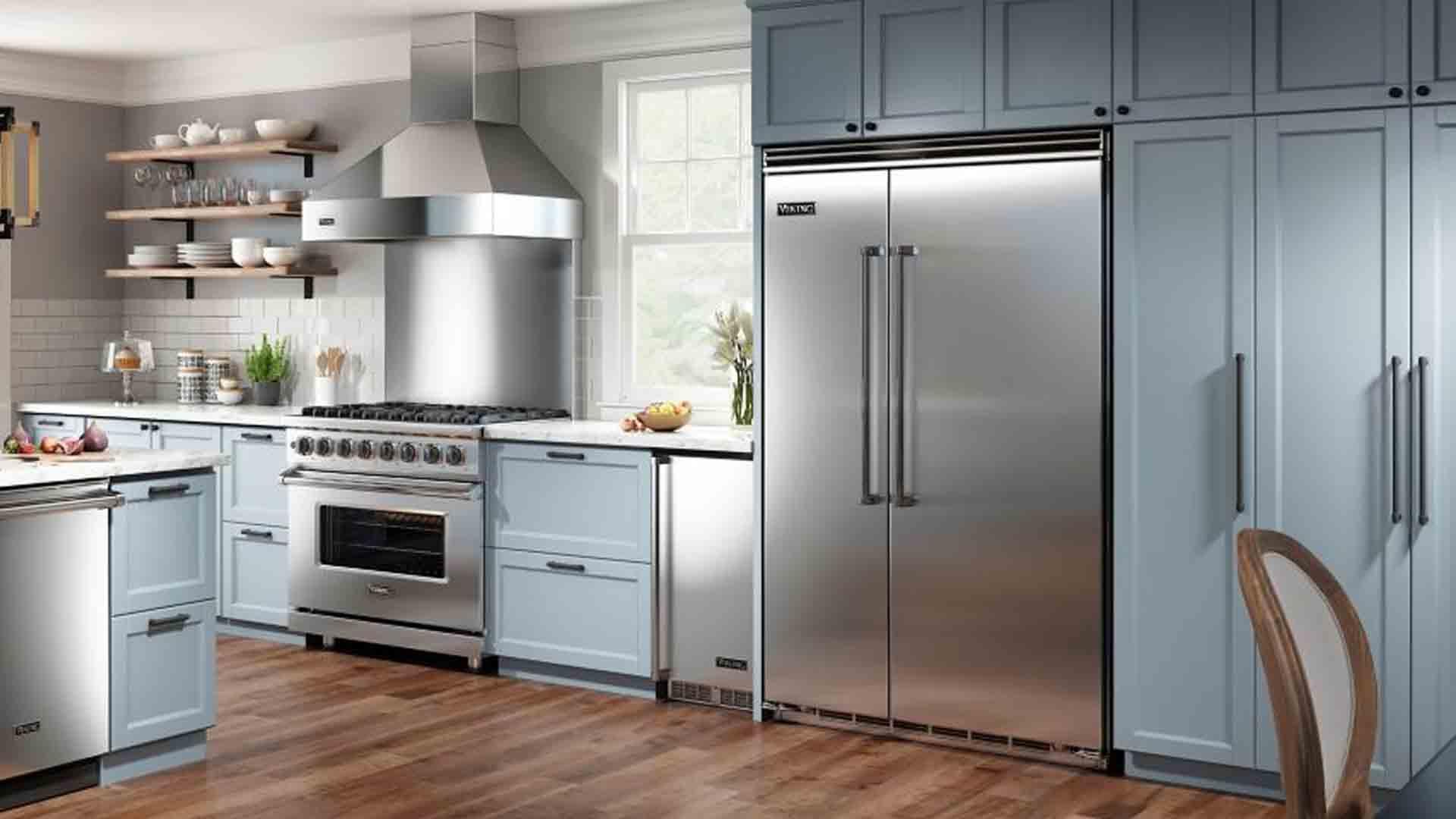 Viking Built-In Side by Side Refrigerator Repair Service | Viking Appliance Repairs