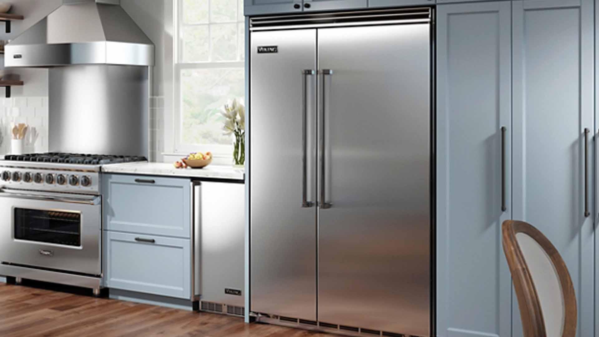Viking Freestanding Side by Side Refrigerator Repair Service | Viking Appliance Repairs